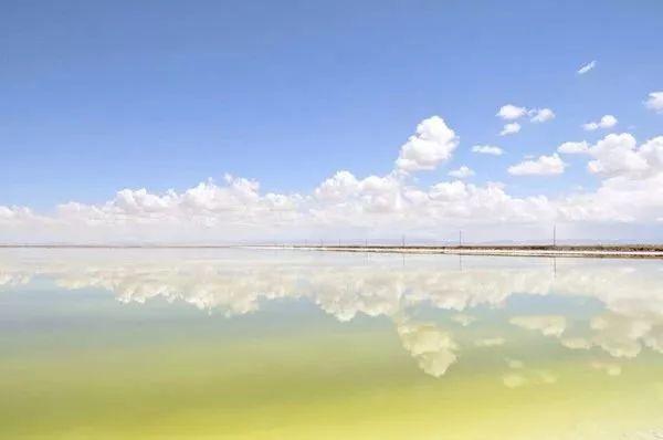 亚洲最大天空之镜隐藏在青海!是茶卡盐湖的56倍大!