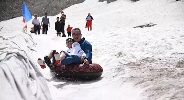 网红公路一日见四季 自驾新疆独库跨天山 旅游资讯 第7张
