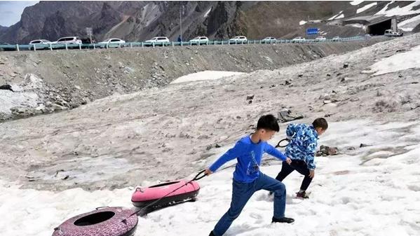 网红公路一日见四季 自驾新疆独库跨天山 旅游资讯 第9张
