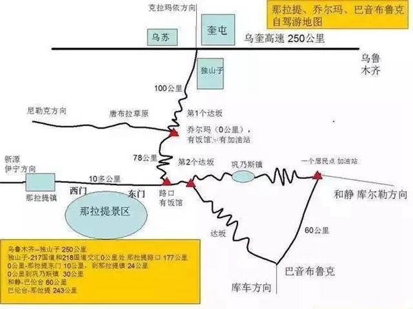 网红公路一日见四季 自驾新疆独库跨天山 旅游资讯 第10张